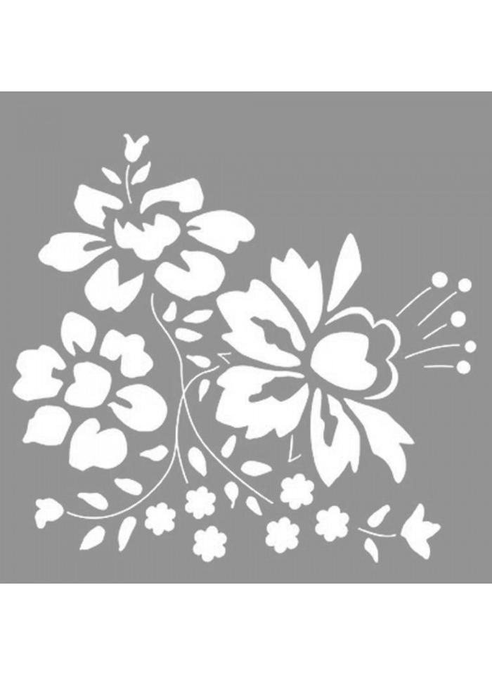 Standart Artikel Dahlia Stencil Tasarımı 30 x cm